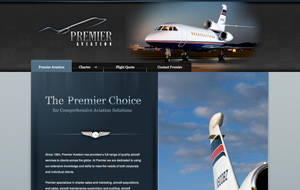 Premier Aviation Website