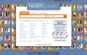 HealthGrades Website